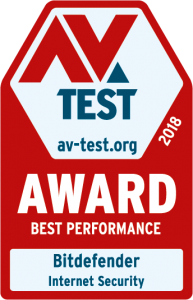 AV TEST BEST PERFORMANCE 2018