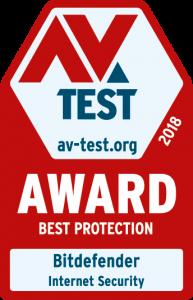 AV TEST BEST PROTECTION 2018